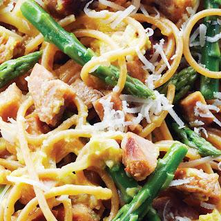 Spaghetti Carbonara with Chicken Sausage Recipe