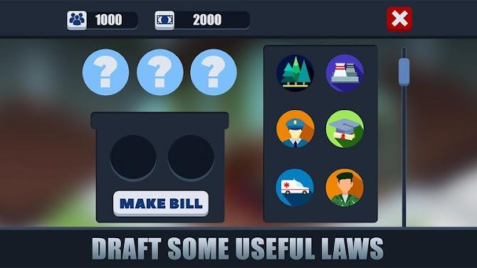 Democracy President Job Simulator - Career Mode Android 10