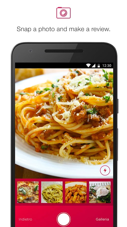 SnapFood- screenshot