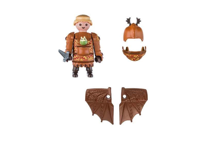 Contenido real de Playmobil® 70044 Patapez con Traje Volador