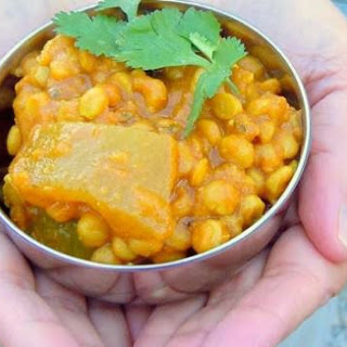 Nilam's Split Pea and Calabash Squash Curry
