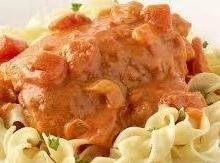 Skinny Chicken Paprikash Recipe