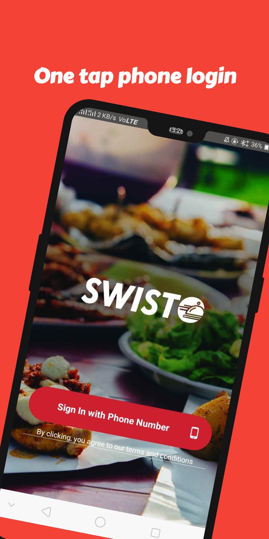 Скриншот Swisto - Everything at your doorstep