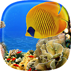 Aquarium Live Wallpaper  Fish Tank Background icon