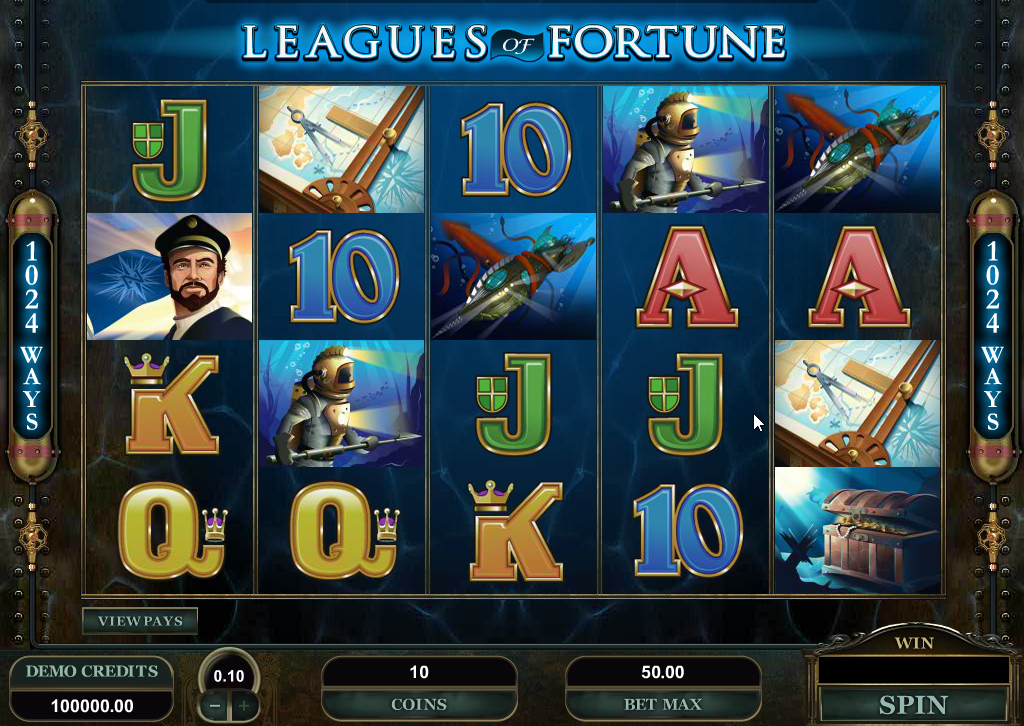 Leagues of Fortune Slots Game Review