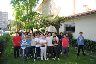 Photo: Lamagueiro. Detrás: moreira, acacia, e palmera