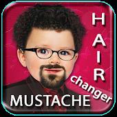 Hair Style & Mustache Changer