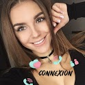 Meet girls online - live chat icon