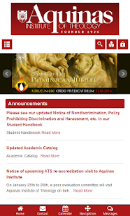 Aquinas Institute of Theology- screenshot thumbnail