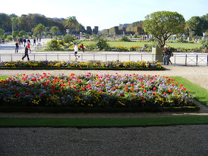 Photo: And here is the view into the gardens from the Gallery.