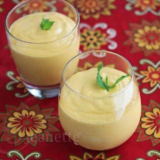 Mango Coconut Mint Smoothie