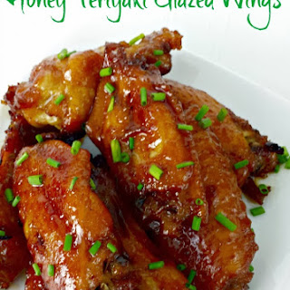 Honey Teriyaki Glazed Wings.