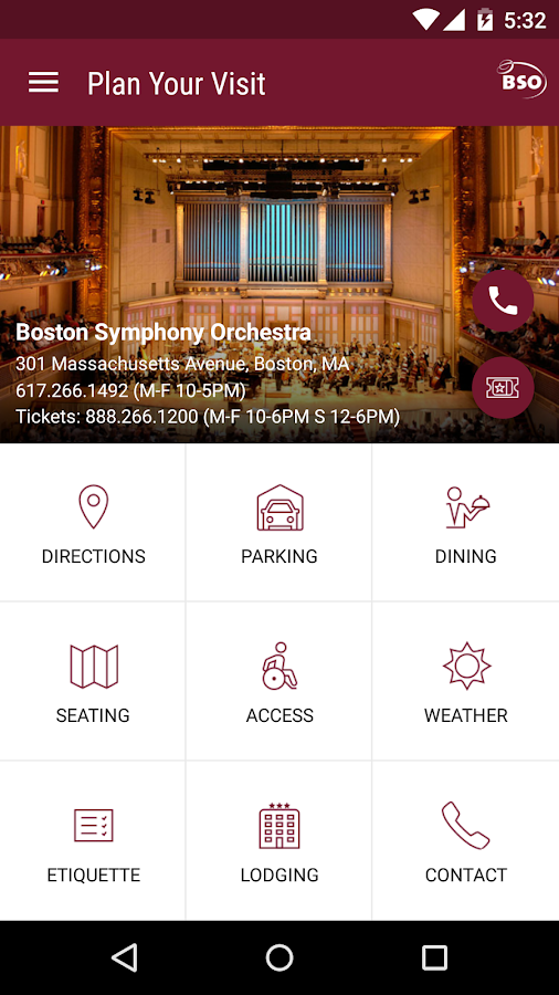Boston Symphony Orchestra- screenshot