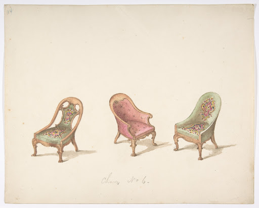 Design for Three Tub Chairs