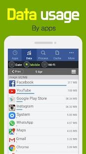 Goclean-Data usage,App usage - náhled