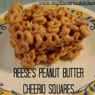 Reese's Peanut Butter Cheerio Squares