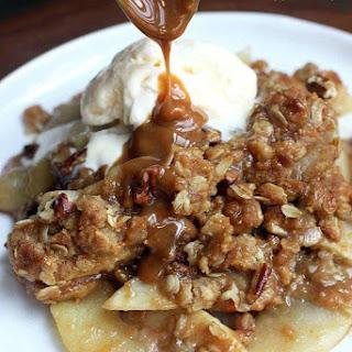 Caramel Pecan Apple Crisp Recipe