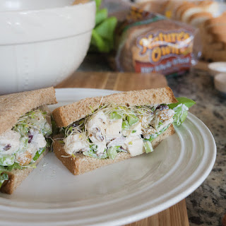 Green Apple Chicken Salad - Mayo Free