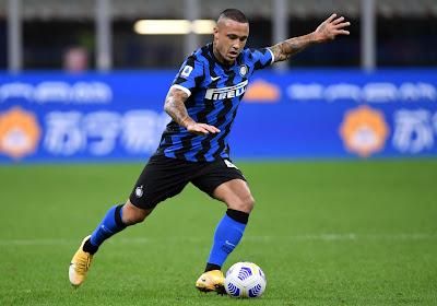 Rajda Nainggolan kan niet in actie komen in tweede competitiewedstrijd van Inter