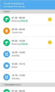 Partner Scheduling App - náhled