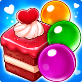 Taartjesbubbel laten knallen - Bubble Shooter icon