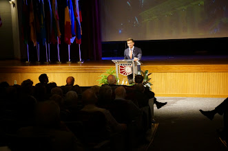 Photo: Special Remarks by The Honorable Aaron Schock (United States Congressman, IL-18)