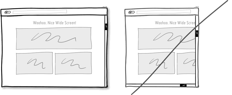 Попробуйте адаптивные макеты вместо статических