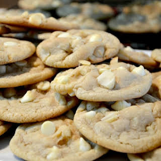 White Chocolate Chip Macadamia Nut Cookies.