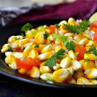 Tangy Sweet Corn Chaat