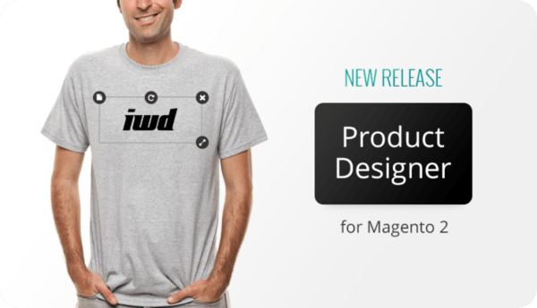 perfect Magento product designer extension