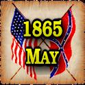 1865 May Am Civil War Gazette icon