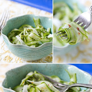 Shaved Asparagus Salad with Parmesan