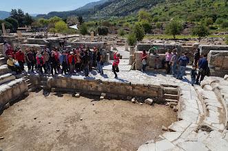 Photo: Sarjita performing at the Ephesus parliment
