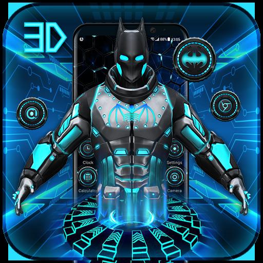 3D Bat Superhero Launcher for Free