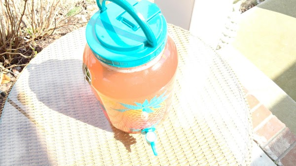 Leave container out in the sun for about 4 hours (less time if you...