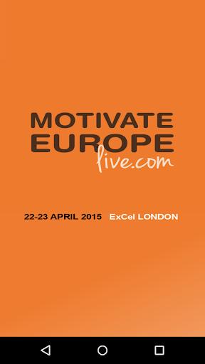 Motivate Europe Live App
