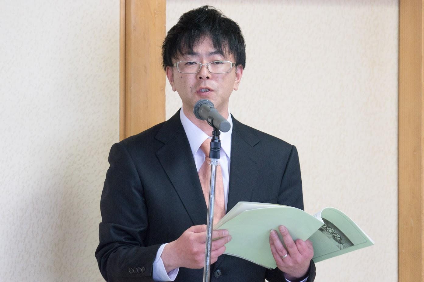 北竜町もち米生産組合事務局・篠永雄一様
