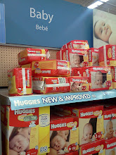 Photo: Wow. Look at all those wipes. I love the big packages. I always bought all my diapers & wipes in bulk to save on cost & trips to the store.