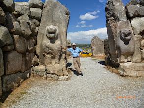Photo: At the gates of Hattusas