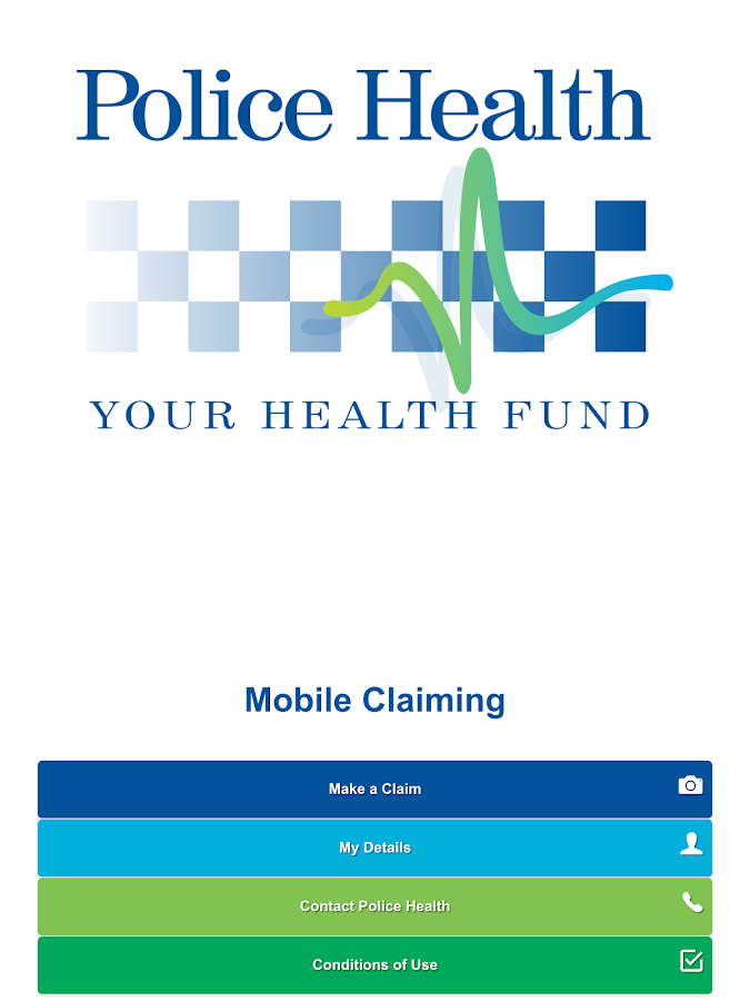 Police Health Mobile Claims- screenshot