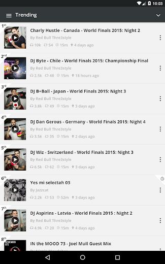 Screenshot 14 for Mixcloud's Android app'