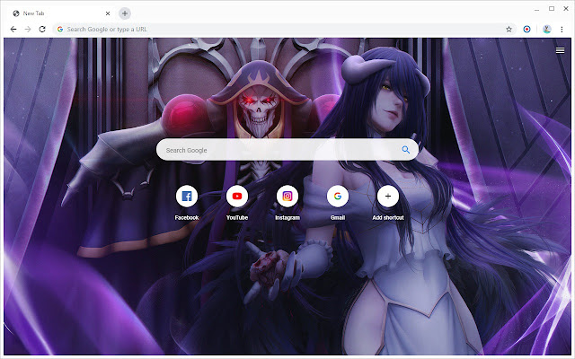 New Tab - Overlord