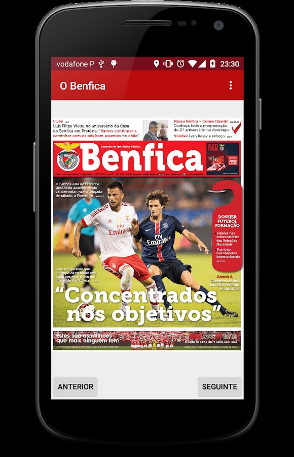 newsBenfica- screenshot