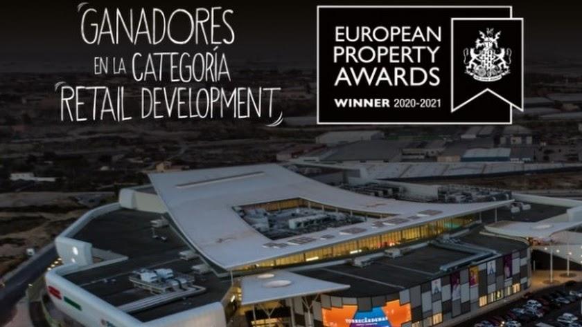 Nuevo reconocimiento para el Centro Comercial Torrecárdenas.