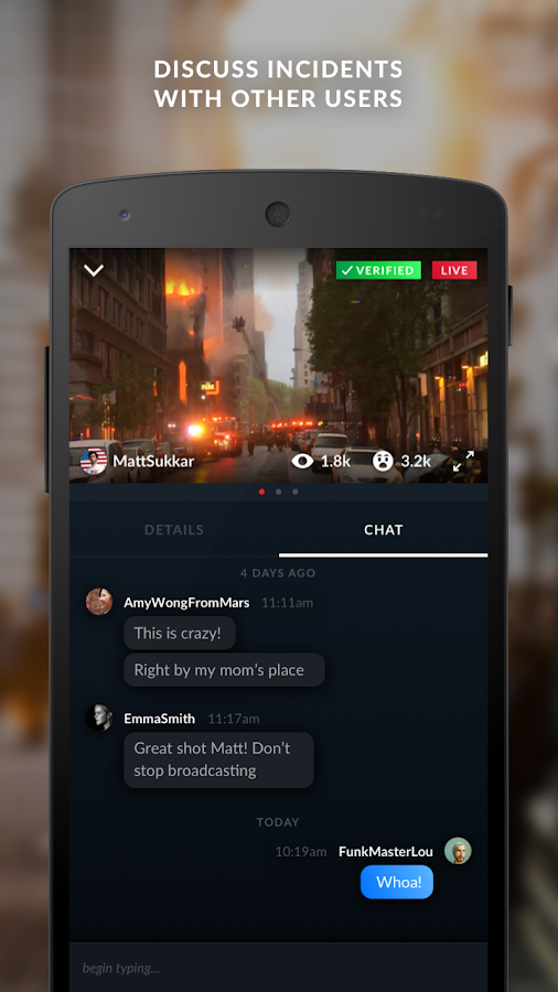 Citizen: Safety & Awareness- screenshot