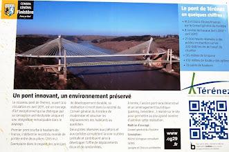 Photo: BRETANYA 2013. Pont de Térénez, que dóna accés a la península de Crozon.