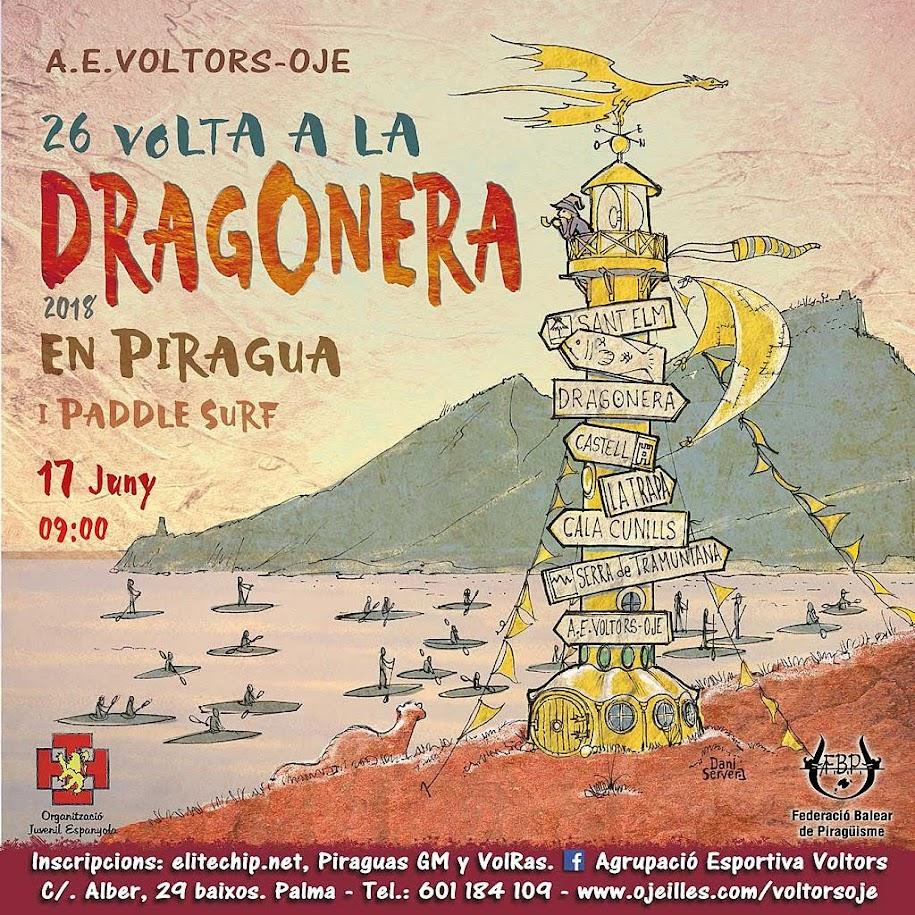 XXVI   26 Volta a Sa Dragonera en Piragua i Paddle Surf.   -BTtersMallorca