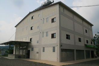 Photo: The back of the new Piao I headquarters and factory.