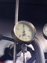 Photo: Un manomètre (?)