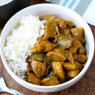 Jamaican Chicken Curry.